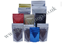 Foil Clear Stand Up Pouches