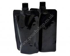 Spout Pouch - Top Spout Shiny Black