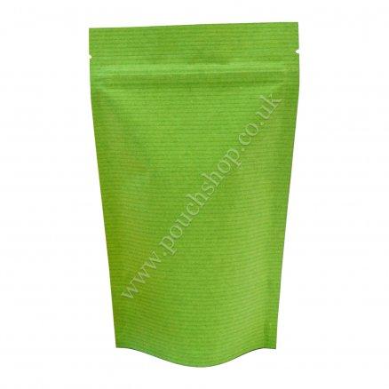Striped Green Kraft Paper